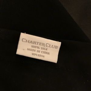 Charter Club Accessories - Charter Club 100% silk shawl/wrap/scarf sheer